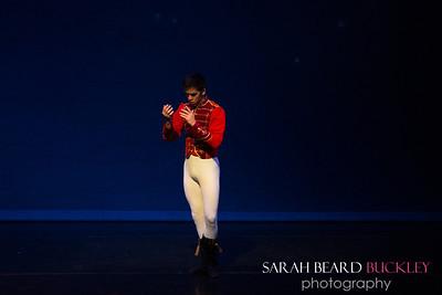 Maiki Saito as the Nutcracker Prince,
