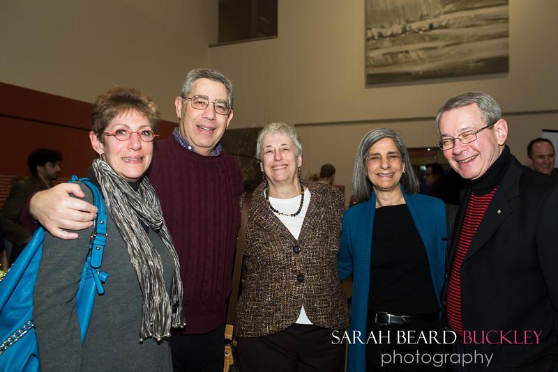 Joann and Wayne Goodman, Robin Rubinsteinm Peggy Greenhut Golden and Larry Rubenstein