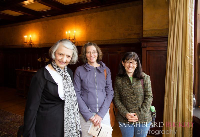 Penelope Jones, Pat Dietzel and Laura Benjamin