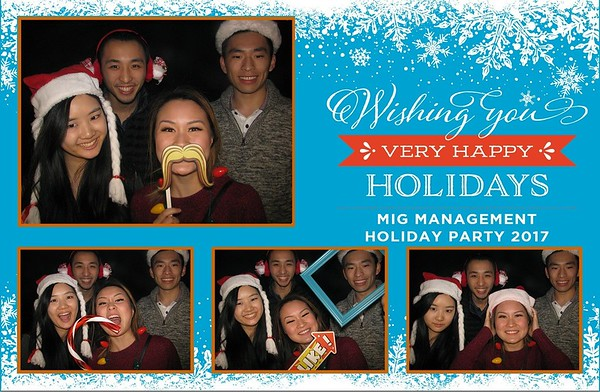 2017 MIG Management Holiday Party
