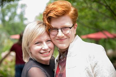 Teri Muuss and Rainer