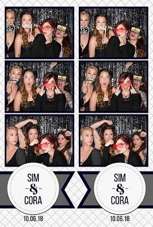 Sim and Cora's Wedding