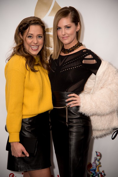 Erika Henningsen & Taylor Louderman of Mean Girls at PreGrammy Party