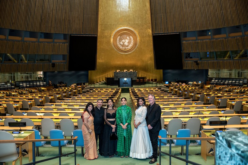 Love Sonia - US Premiere at the United Nations with Actress Freida Pinto, Director Tabrez Noorani & Academy Award Nominated Producer David Womark
