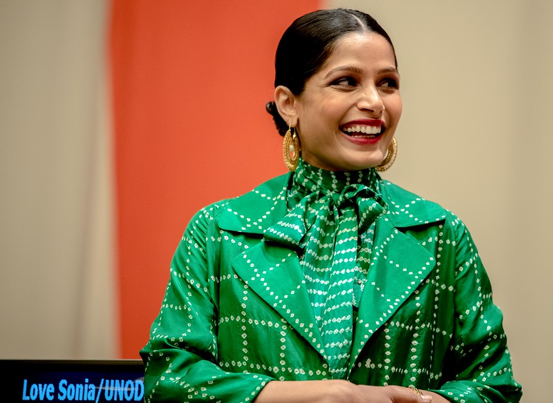 Love Sonia - US Premiere at the United Nations with Actress Freida Pinto