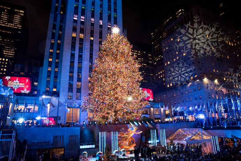 Rockefeller Tree Lighting 2019