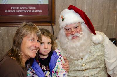 Santa at Grove