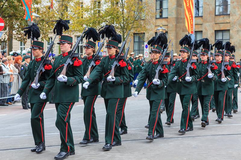 Prinsjesdag 2011, procession.