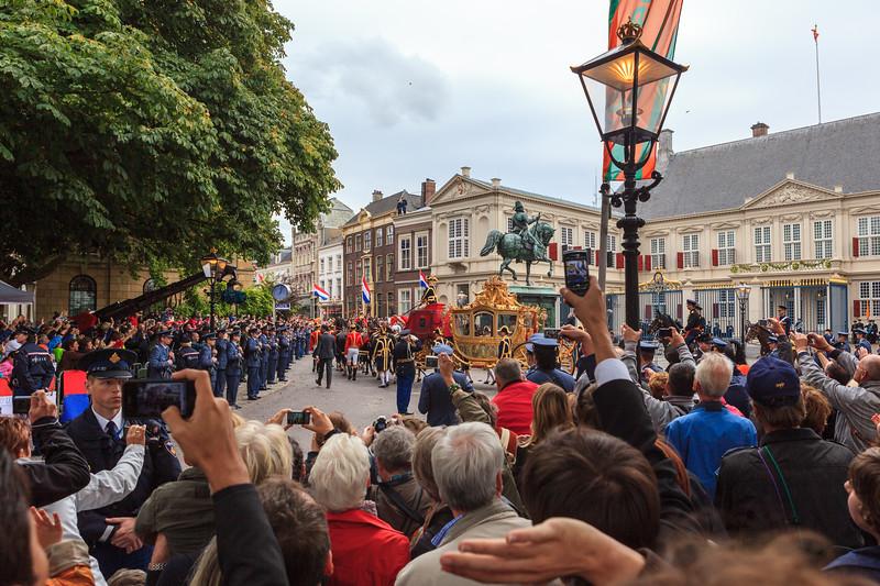 Noordeinde Palace - Prinsjesdag.