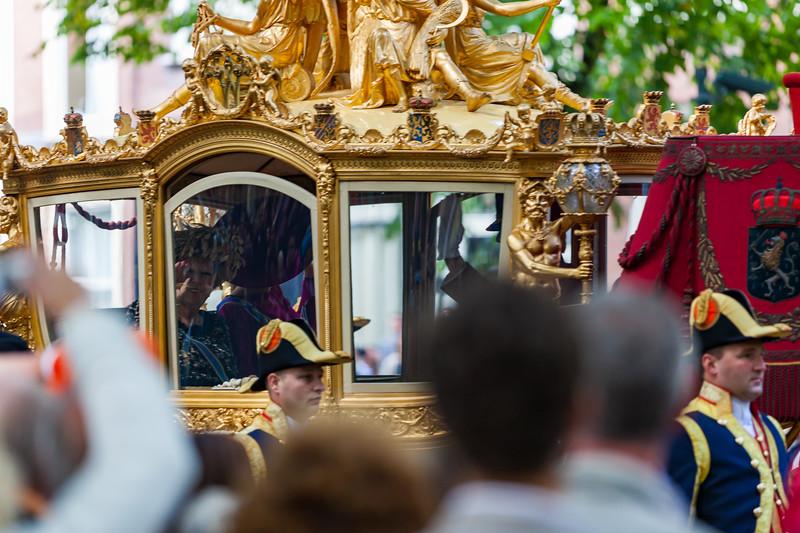 Queen Beatrix - Prinsjesdag 2012 - State Procession