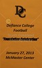 2013-01-27 Defiance College Football Banquet