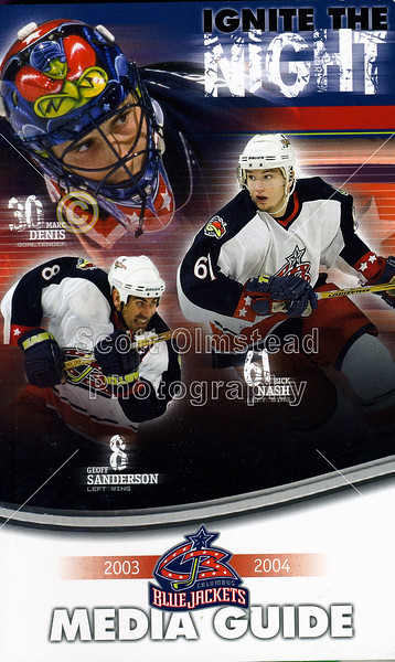 2003-10-01 Columbus Blue Jackets Media Guide