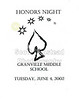 2002-06-04 GHS Honors Night