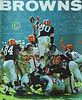 1960-09-01b Cleveland Browns Magazine Front Cover