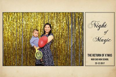 Chụp ảnh lấy liền và in hình lấy liền từ photobooth tại Prom 2017 của trường trung học Ngôi Sao | Instant Print Photobooth at Ngoi Sao High School's Prom Night of Magic 2017 | PRINTAPHY - PHOTO BOOTH VIETNAM