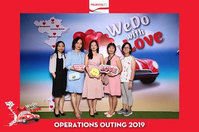 Dịch vụ in ảnh lấy liền & cho thuê photobooth tại sự kiện ngày hội teambonding Prudential   Instant Print Photobooth Vietnam at Prudential Outing