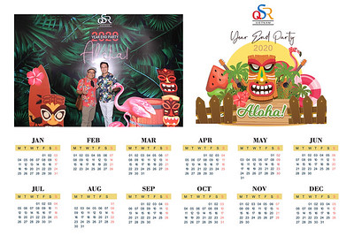 Dịch vụ in ảnh lấy liền & cho thuê photobooth tại sự kiện Tiệc tất niên công ty QSR | Instant Print Photobooth Vietnam at QSR Year End Party