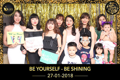 Chụp ảnh lấy liền và in hình lấy liền từ photobooth/photo booth tại tiệc cuối năm của công ty SVAN Spa | Instant Print Photobooth/Photo Booth at SVAN Spas Year End Party 2017 | PRINTAPHY - PHOTO BOOTH VIETNAM