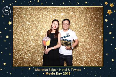 Dịch vụ in ảnh lấy liền & cho thuê photobooth tại sự kiện tri ân khách hàng Sheraton xem phim | Instant Print Photobooth Vietnam at Sheraton Movie Day