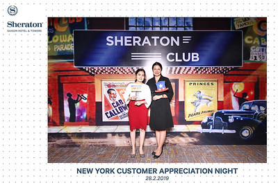 Dịch vụ in ảnh lấy liền & cho thuê photobooth tại tiệc tri ân khách hàng của khách sạn Sheraton | Instant Print Photobooth Vietnam at Sheraton New York Customer Appreciation Night