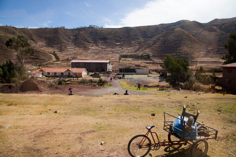 """Street Scenes"" were shot mainly from the bus I was riding. We traveled from Lima to Cusco to Machu Picchu. From city, through countryside, to mountains."