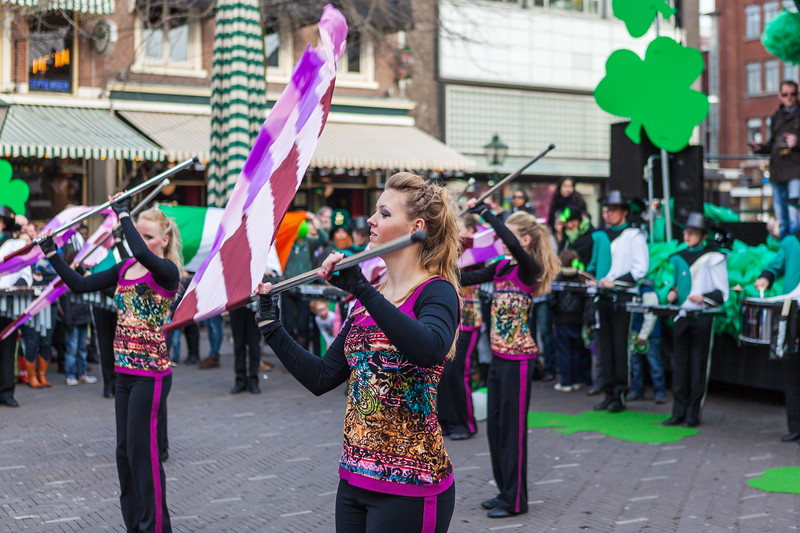 Childrens School Marching Band - St. Patricks Day  2011