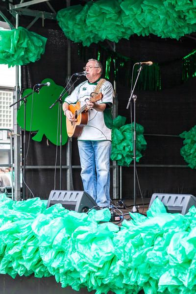 Singer Noel Dutton  - St. Patricks Day  2011
