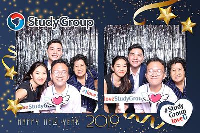 Dịch vụ in ảnh lấy liền & cho thuê photobooth tại sự kiện tiệc cuối năm, tất năm của Study Group | Instant Print Photobooth Vietnam at Study Group YEP