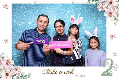 Dịch vụ in ảnh lấy liền & cho thuê photobooth tại sự kiện Tiệc sinh nhật bé Suzy   Instant Print Photobooth Vietnam at Suzy's 2nd Birthday