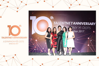 Instant Print Photobooth/Photo Booth at Talentnet's 10th Anniversary 2017