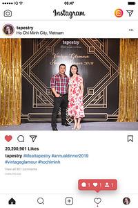 Dịch vụ in ảnh lấy liền & cho thuê photobooth tại sự kiện tiệc cuối năm công ty Tapestry | Instant Print Photobooth Vietnam at Tapestry Year End Party