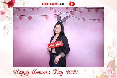 Dịch vụ in ảnh lấy liền & cho thuê photobooth tại sự kiện Mừng ngày Phụ nữ Việt Nam của Techcombank   Instant Print Photobooth Vietnam at Techcombank Women's Day