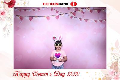 Dịch vụ in ảnh lấy liền & cho thuê photobooth tại sự kiện Mừng ngày Phụ nữ Việt Nam của Techcombank | Instant Print Photobooth Vietnam at Techcombank Women's Day