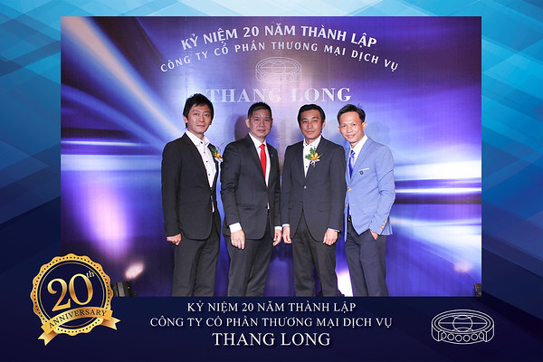 Chụp ảnh lấy liền và in hình lấy liền từ photobooth tại sự kiện kỷ niệm 20 năm thành lập công ty Thang Long | Instant Print Photobooth at 20th Anniversary of Thang Long Company 2017 | PRINTAPHY - PHOTO BOOTH VIETNAM