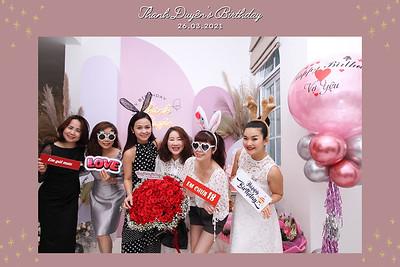 Dịch vụ in ảnh lấy liền & cho thuê photobooth tại sự kiện Tiệc sinh nhật Ms. Thanh Duyên | Instant Print Photobooth Vietnam at Ms. Thanh Duyen's Birthday