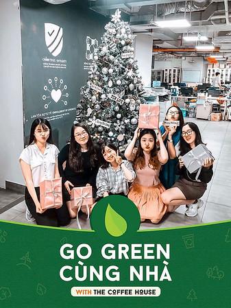 Dịch vụ in ảnh lấy liền & cho thuê photobooth tại sự kiện Go Green của The Coffee House | Instant Print Photobooth Vietnam at The Coffee House Go Green