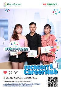 Dịch vụ in ảnh lấy liền & cho thuê photobooth tại sự kiện cuộc thi The I-Factor | Instant Print Photobooth Vietnam at The I-Factor Competition