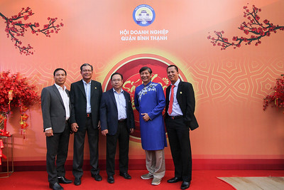 Dịch vụ in ảnh lấy liền & cho thuê photobooth tại sự kiện Tiệc mừng xuân của Hội Doanh Nghiệp quận Bình Thạnh | Instant Print Photobooth Vietnam at New Year Party of Binh Thanh District Business Association