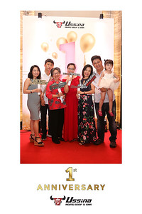 Dịch vụ in ảnh lấy liền & cho thuê photobooth tại sự kiện Kỷ niệm 1 năm thành lập nhà hàng Ussina | Instant Print Photobooth Vietnam at Ussina's 1st Anniversary
