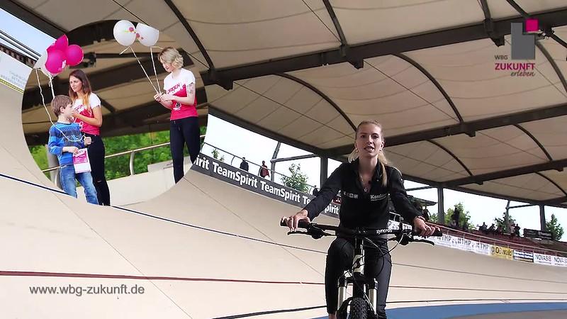 Teil 1 - Goldenes Rad von Erfurt – Großer Preis der WBG Zukunft eG – Steherennen der Wohnungsbaugenossenschaft Zukunft eG - älteste Radrennbahn der Welt im Andreasried