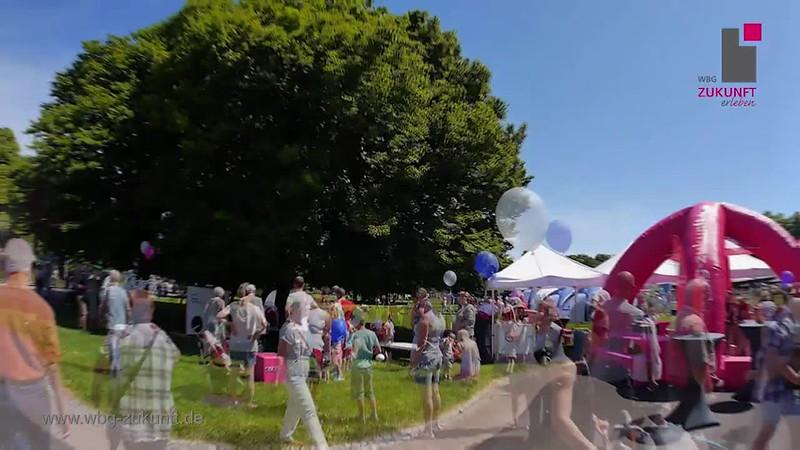 Familienfest der Genossenschaften 2017 - egapark - Bundesgartenschau 2021 - WBG Zukunft eG - Karrideo Imagefilmproduktion Christian Weiße