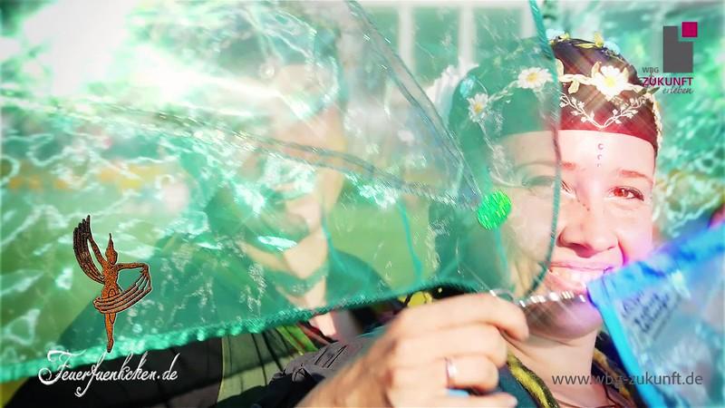 Die Feuerfünkchen zum Licherfest 2018 im egapark - WBG Zukunft eG - Karrideo Imagefilmproduktion