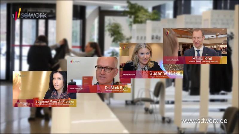 """Videorückblick zur SD Worx Personaltagung """"Mehr Zeit für Zukunft"""" - Karrideo Imagefilm ©®™"""
