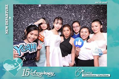 Dịch vụ in ảnh lấy liền & cho thuê photobooth tại sự kiện Tiệc kỷ niệm 15 năm thành lập Victoria Healthcare | Instant Print Photobooth Vietnam at Victoria Healthcare's 15th Anniversary