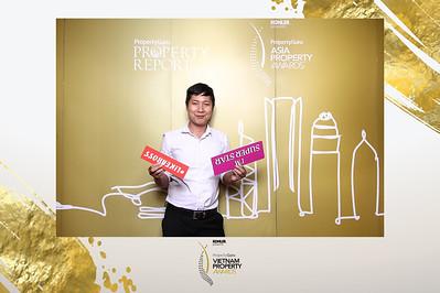 Dịch vụ in ảnh lấy liền & cho thuê photobooth tại sự kiện lể trao giải bất động sản | Instant Print Photobooth Vietnam at Vietnam Property Award