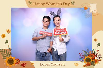 Dịch vụ in ảnh lấy liền & cho thuê photobooth tại sự kiện mừng Quốc tế Phụ Nữ của Công ty VinID    Instant Print Photobooth Vietnam at VinID Women's Day Celebration