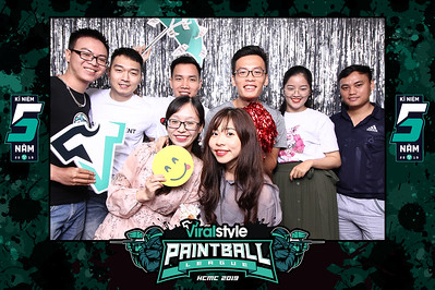 Dịch vụ in ảnh lấy liền & cho thuê photobooth tại sự kiện kỷ niệm 5 năm công ty Viral Style Paintball League | Instant Print Photobooth Vietnam at Viral Style Paintball League's 5th Anniversary