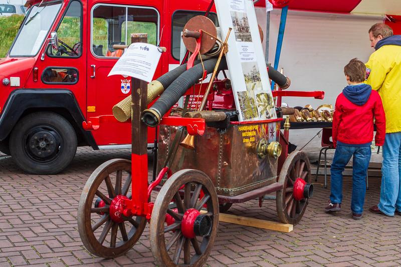 Fire Engine Exhibit - Vlaggetjesdag
