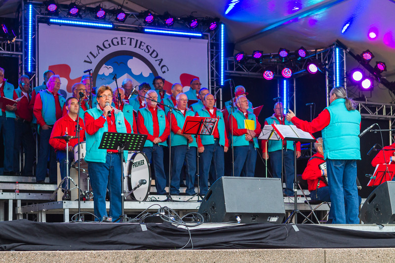 Male Choir - Vlaggetjesdag