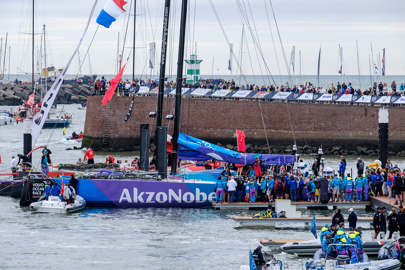 Akzo Noble - Finished 4th in the 2017–18 Volvo Ocean Race.  The race concluded in Scheveningen.